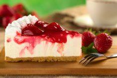Aprende a fazer O Cheesecake com iogurte mais cremoso!