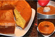 Receita do bolo de limão da minha avó fácil e rápido sai sempre bem