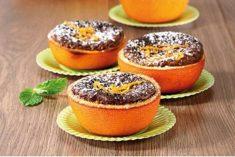 Bolo-musse de chocolate e laranja