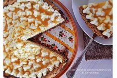 Cheesecake de Canela e Lemon Curd