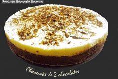 Cheesecake de 2 chocolates