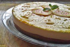 Cheesecake de Laranja(Receita Bimby)