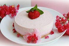 Cheesecake de Morango Frio