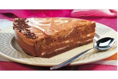 Delicioso cheesecake de chocolate