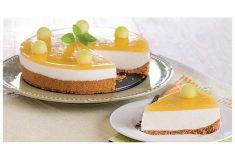 Cheesecake de melão
