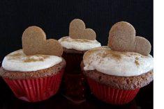 Cupcakes de Gengibre e Canela
