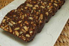 Salame De Chocolate (Com Nesquik e Menos Manteiga)