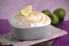 Delícia de limão merengada
