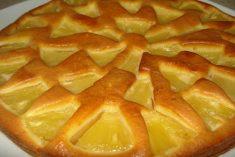 Tarte delicia de ananás