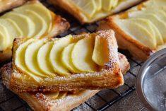 Folhadinhos de maçã