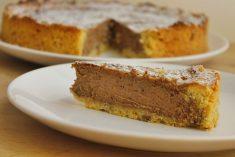 Cheesecake de Chocolate no forno