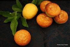 Madalenas de Limão