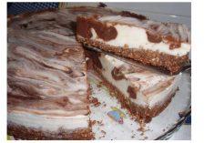 Mousse Gelada de Chocolate e Iogurte
