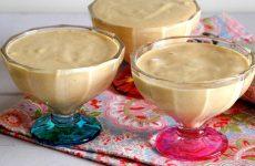 Mousse de leite condensado cozido