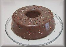 Pudim El Mandarim com Chocolate e Côco
