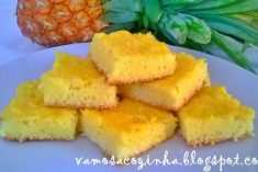 Quadrados de ananás