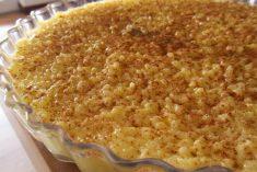 Arroz Doce da Família cremoso amarelinho e doce