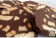 Salame de Chocolate com Leite Condensado
