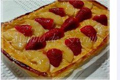 Tarte de ananás & morango