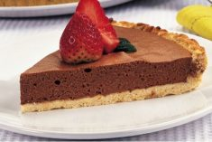 Tarte de chocolate(Receita light)