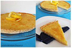 Tarte de limão e coco