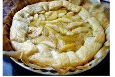 Tarte folhada de maçã