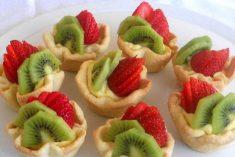 Tarteletes de fruta fresca