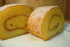 Torta de  laranja da mãe a mais fofinha do mundo