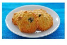 Biscoitos de aveia e côco