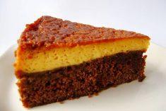 BOLO PUDIM DE CHOCOLATE E LEITE CONDENSADO