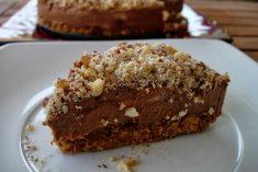 Cheesecake de Nutella (versão menos calórica)