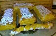 Delicias Folhadas com Doce de Ovos