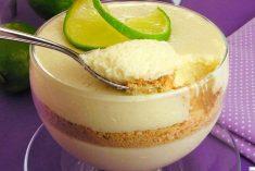 Mousse fácil de limão muito deliciosa