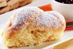 Pãozinho de mandioquinha e leite condensado