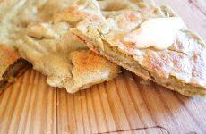 Pão de frigideira em 5 minutos – sem glúten