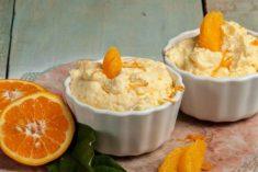Mousse de laranja fácil e rápida de preparar