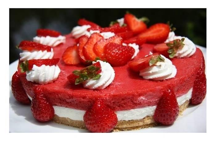 Photo of Cheesecake com Espuma de Morangos