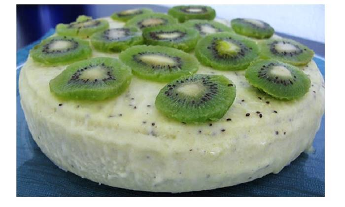 Photo of Mousse Gelada de Kiwi