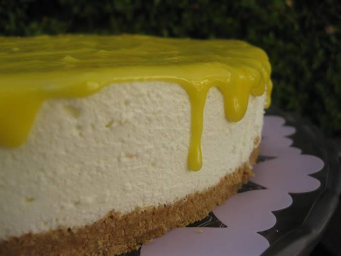 Photo of Cheesecake de Lima-Limão com Curd de Limão