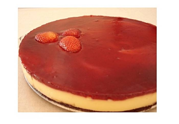 Photo of Brownie Cheesecake de Morango