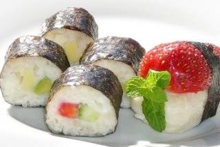 Photo of Sushi doce de frutas