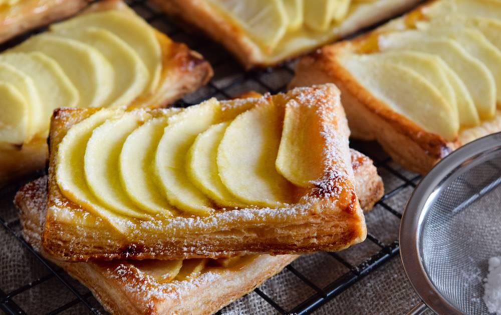 Photo of Folhadinhos de maçã