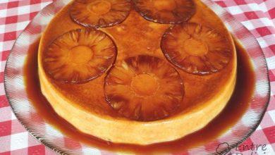 Photo of Pudim delicia de ananás (não vai ao forno)